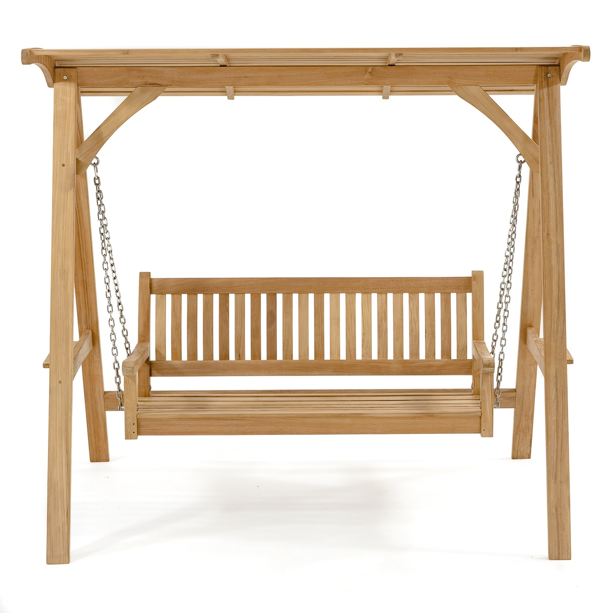 Veranda Teak Swinging Bench With Canopy Westminster Teak