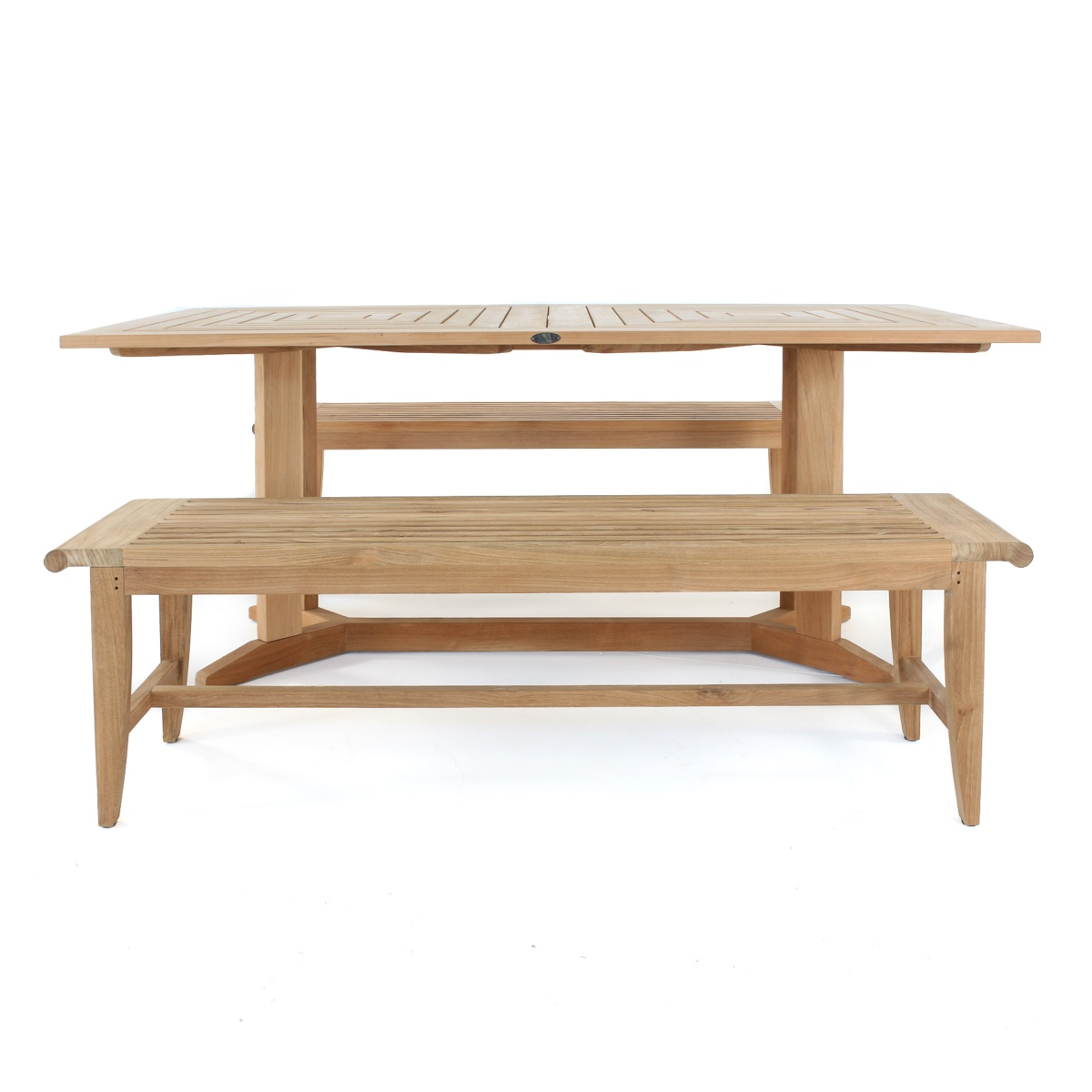 Pyramid Teak Dining Set For 6 People Westminster Teak
