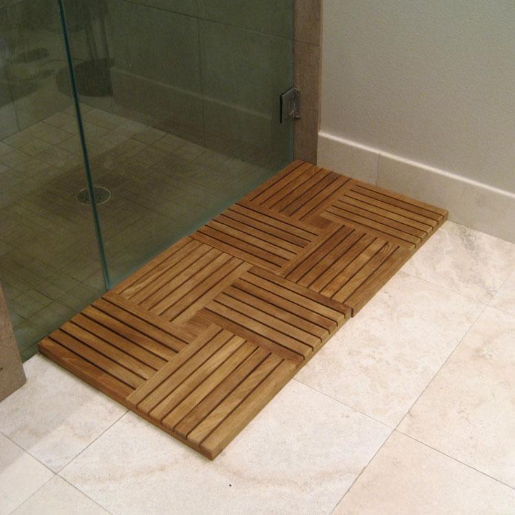 Parquet Wood Deck Teak Tiles Westminster Teak Outdoor