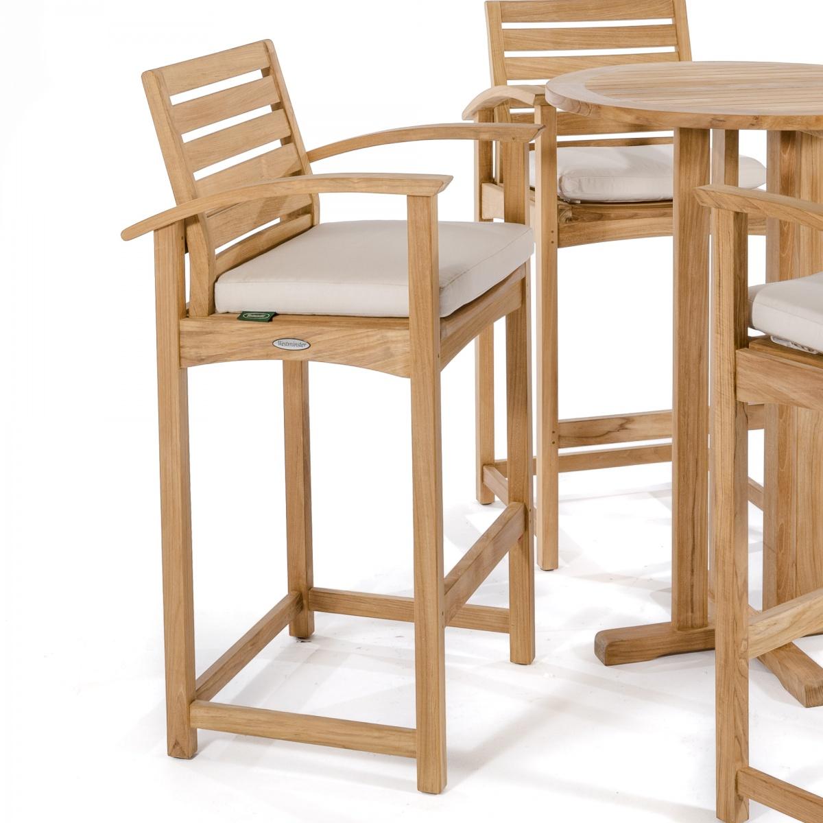 Somerset Teak Bar Stool And Pub Chair Westminster Teak