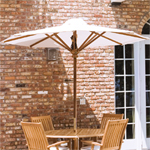Umbrella Ready Tables