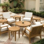 Teak Deep Seating Chairs