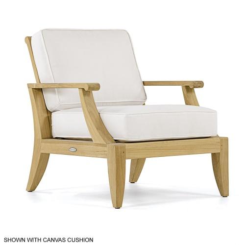 Deep Seating Teak Chair