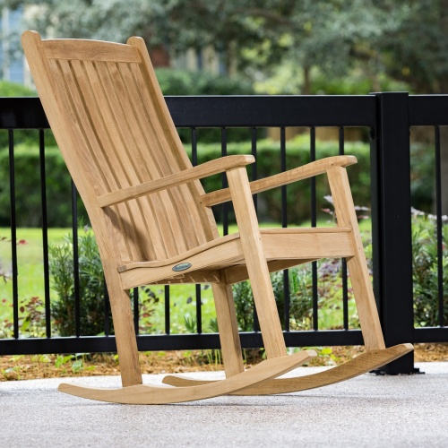 Teakwood Rocking Chairs