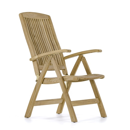 barbuda teak reclining chair