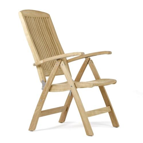 Outdoor Reclining Chair Teakwood