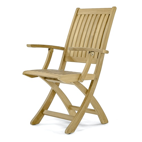 Solid Teak Folding Chair