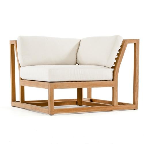teak outdoor sectional furniture