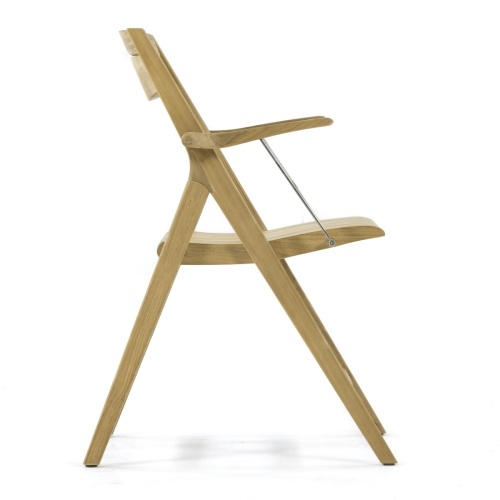 outdoor teak dining chair folding