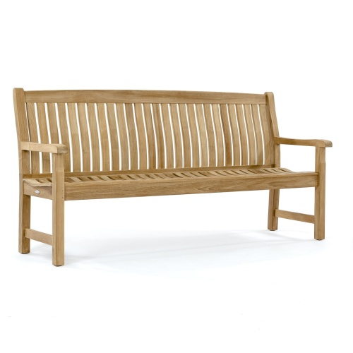 westminster teak veranda bench