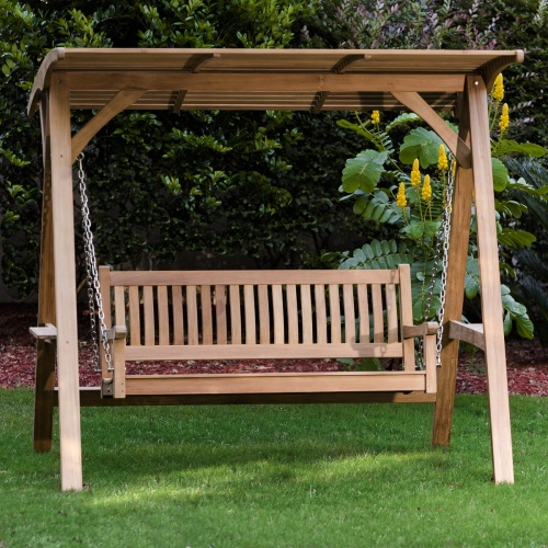 Teak Swing Benches Porch