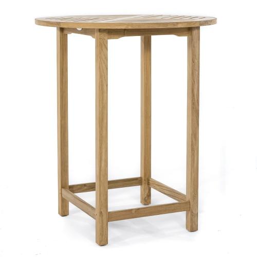 Bar Round Table Teak