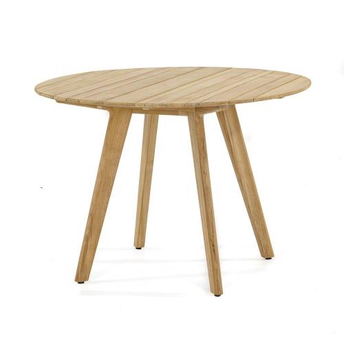 42 Round Teak Table