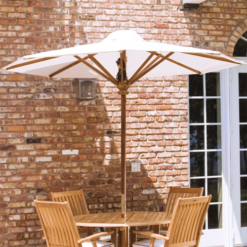 8 ft teak umbrellas