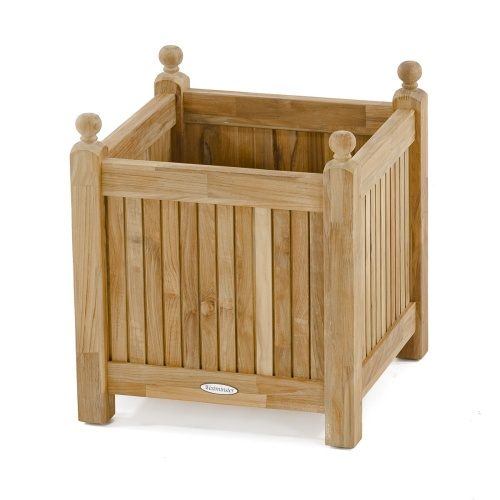 Small Teak Planter Box