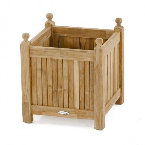 Small Teak Planter Box