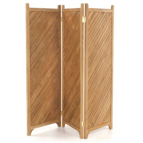 teak privacy screens