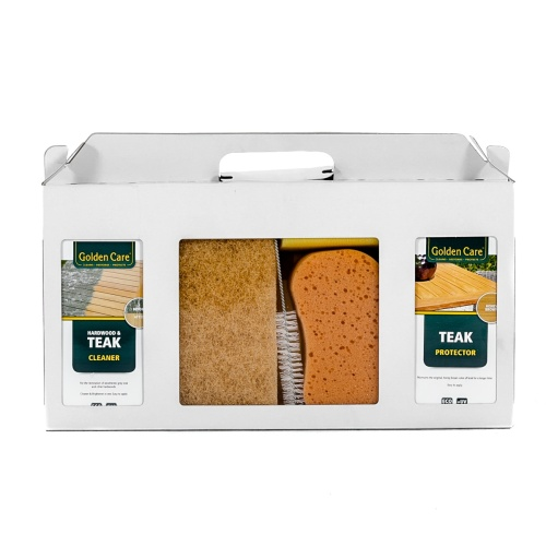 Teak 3 In One Care Kit