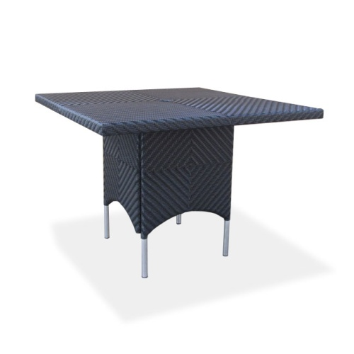 small wicker dining tables