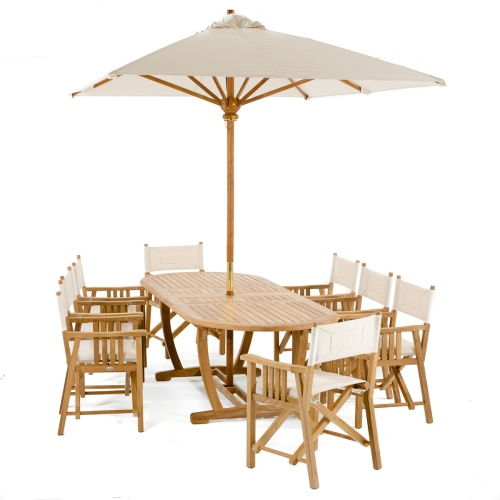 Montserrat Teak Dining Set For 8