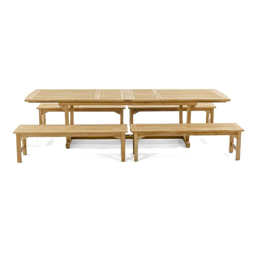 Grand Veranda Teak Wooden Picnic Set