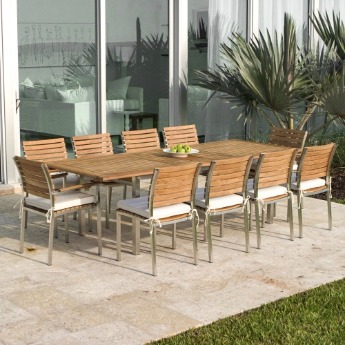 Rectangular Dining Set for 10