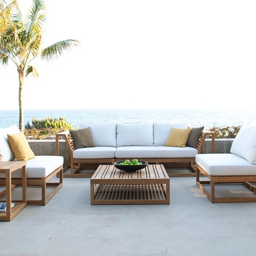 6 Piece Deep Seating Sofa Set