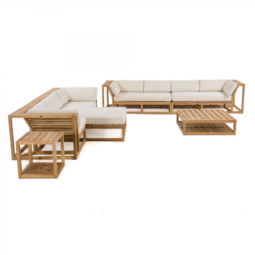 7 pc Teak Sectional Furniture Set