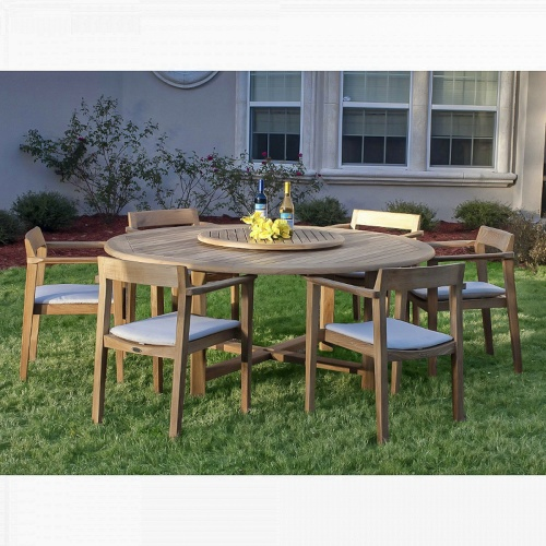 Buckingham Horizon Teak PatioSet