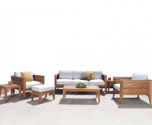 indoor teak lounge sets