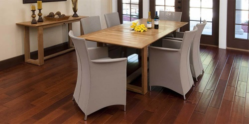 teak dining sets for 6