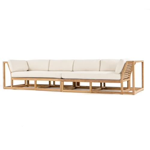 Grand Teak Outdoor Sofa Set