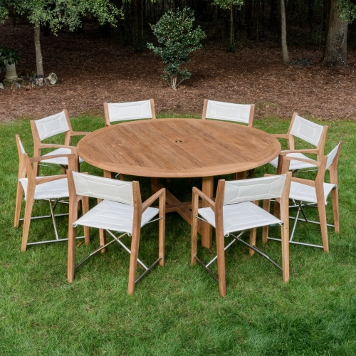 Odyssey Buckingham 9 pc Teak Set