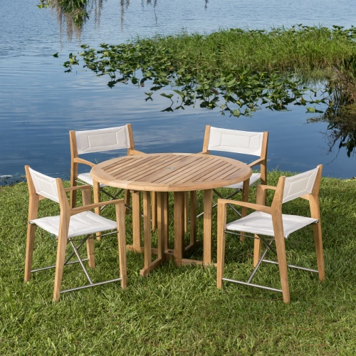Odyssey Barbuda Teak Folding Set