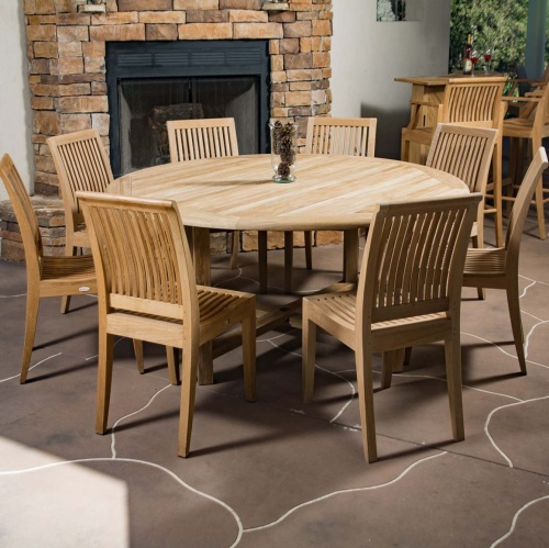 Buckingham Laguna 9 pc Round Set