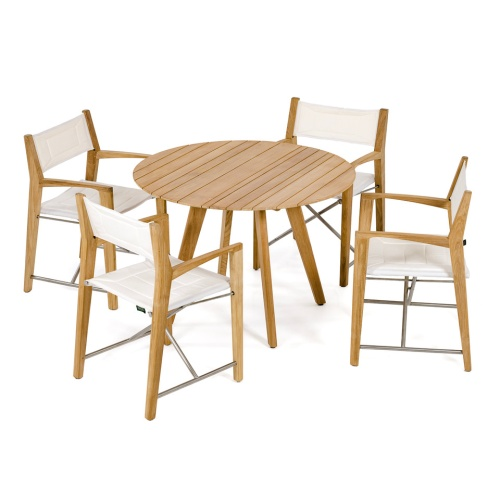 Odyssey Round Dining Set for 4