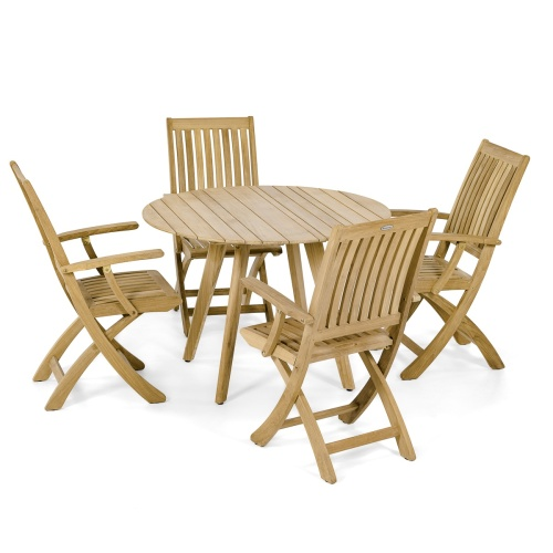 5 pc Surf Barbuda Teakwood Dining Set