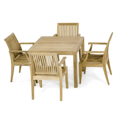 bistro deck patio set for 4