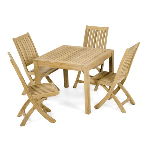 teakwood dining set