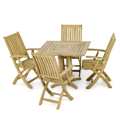 Barbuda Pyramid Dining Set for 4