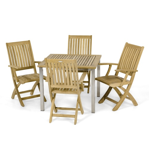 Outdoor 5 pc Bistro Dining Set