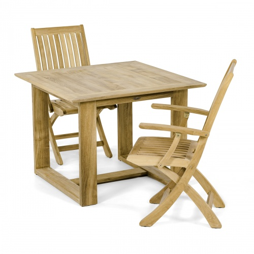 teak patio bistro sets