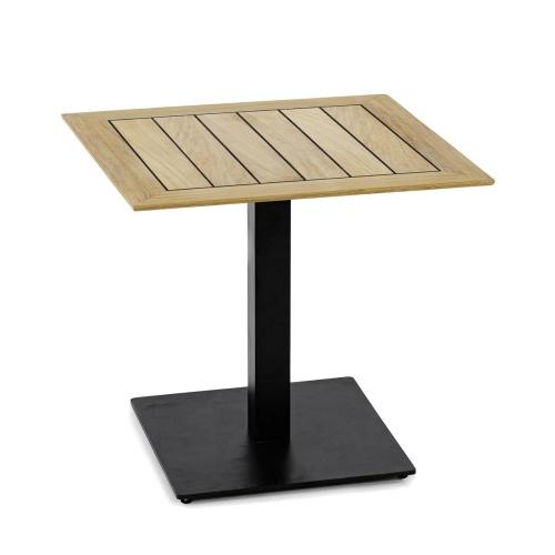 Teak 24 x 30 Table Top Set