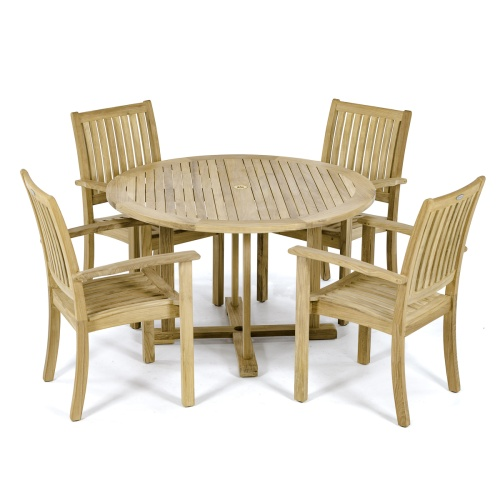 Vogue Sussex Teakwood Dining Set