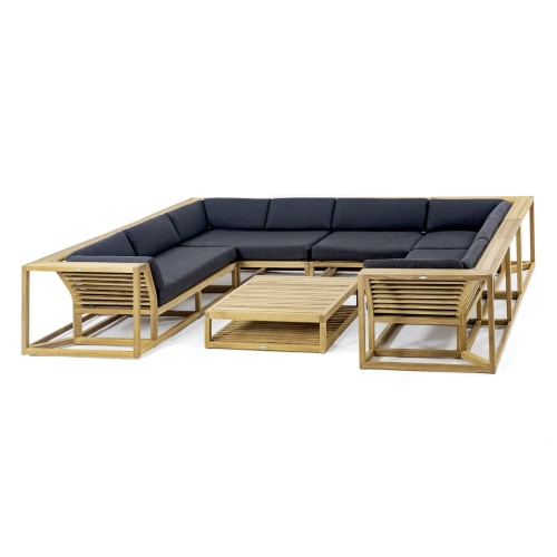 Teakwood Sofas and Sectionals Outdoor