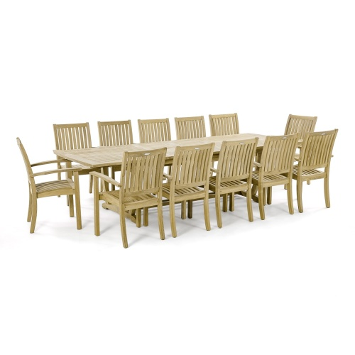 3 pc Sussex Teak Patio Set