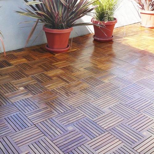parquet teak deck tiles