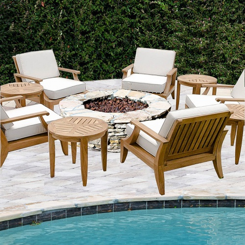6 pc Laguna Armchair Seating Set