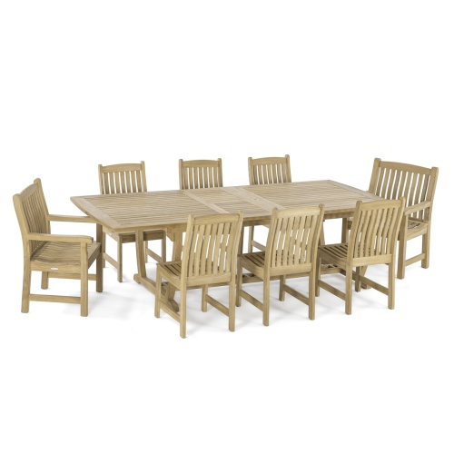 premium teak furniture patio set