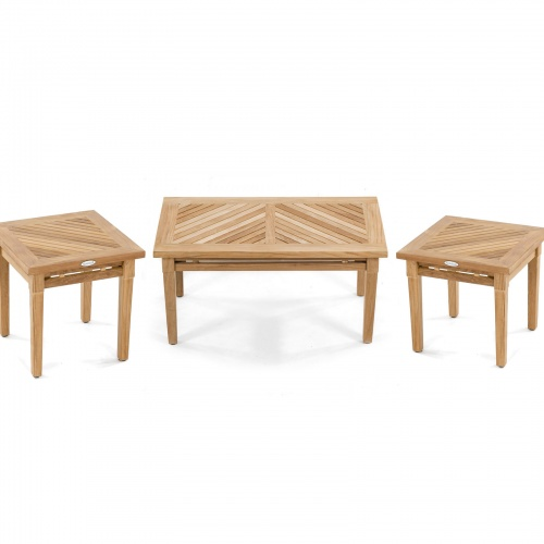 Brighton 3 pc Coffee Table Set